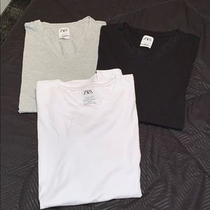 Mens ZARA slim fit shirts